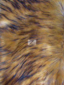 Faux Fake Fur Fabric Wolf Sold By The Yard