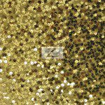 Rain Drop Sequins on Taffeta Fabric Gold