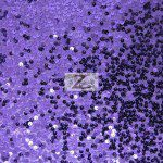 Rain Drop Sequins on Taffeta Fabric Purple