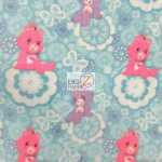 VIP CRANSTON FLEECE FABRIC BY THE YARD Care Bears Blue