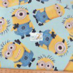 VIP CRANSTON FLEECE FABRIC BY THE YARD Fleece Despicable Me Minion