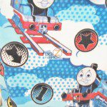 VIP CRANSTON FLEECE FABRIC BY THE YARD Gullane Thomas The Train