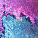 Mermaid Sequins Fabrics By The Yard Light Purple Turquoise NAvy