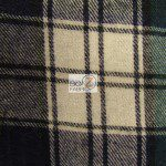 Tartan Plaid Flannel Fabric By The Yard Blue Green White