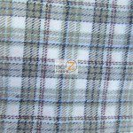 Tartan Plaid Flannel Fabric By The Yard Sage White