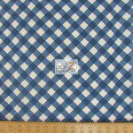 Bias Gingham Michael Miller Cotton Fabric By Yard