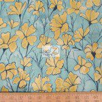 Daylilies Michael Miller Cotton Fabric By Yard