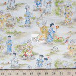 Otokonoko Michael Miller Cotton Fabric By Yard