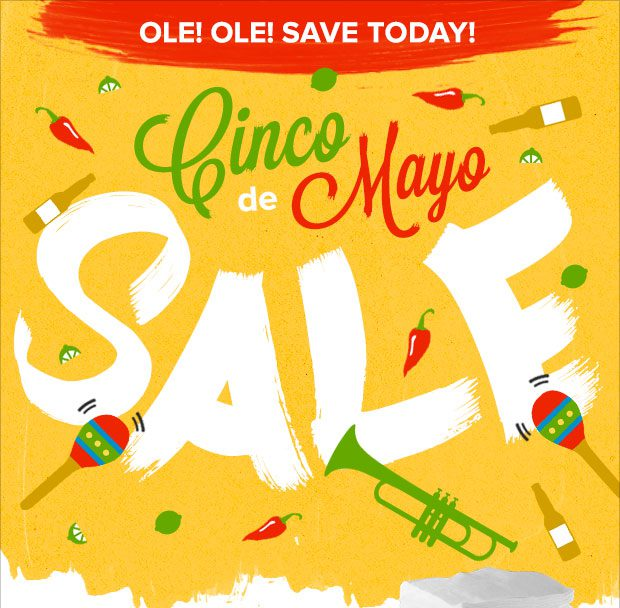 Cinco De Mayo Huge Fabric Sale