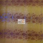 Desert Gold Sopythana Snake Vinyl Fabric By The Yard