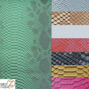 Sopythana Snake Vinyl Fabric By The Yard