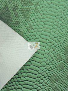 Sopythana Snake Vinyl Fabric By The Yard Backing