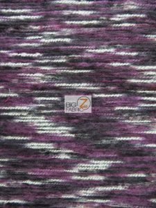 Mexican Poncho State Wool Fabric Purple