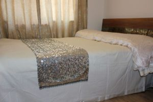 Shiny Sequins Bed Runner