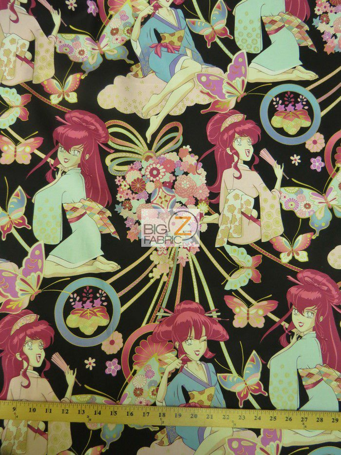 Alexander Henry Miss Butterfly Cotton Fabric