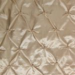 Champagne Button Style Taffeta Fabric By The Yard