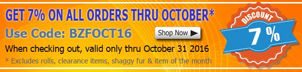 October 2016 By The Yard Fabric Discount