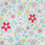 Blooms Riley Blake Cotton Duck Fabric By The Yard