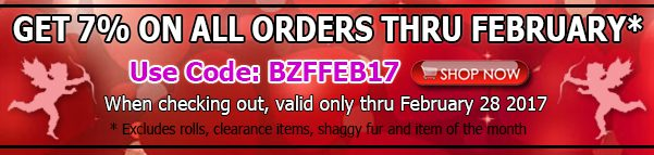 Big Z Fabric February 2017 Discount