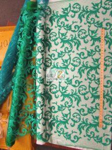 Cocktail Vogue Floral Lace Fabric Design
