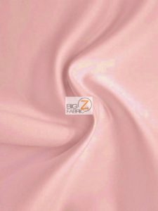 Solid Medium Weight Shiny Satin Fabric Peach