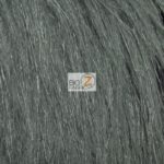 Steel Arctic Fox Fur Fabric By The Yard