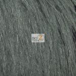 Steel Arctic Fox Fur Fabric By The Yard