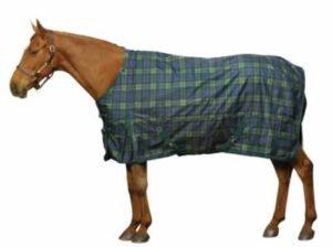 Plaid Flannel Warm Horse Blanket