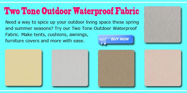 Two Tone Outdoor Waterproof Fabric