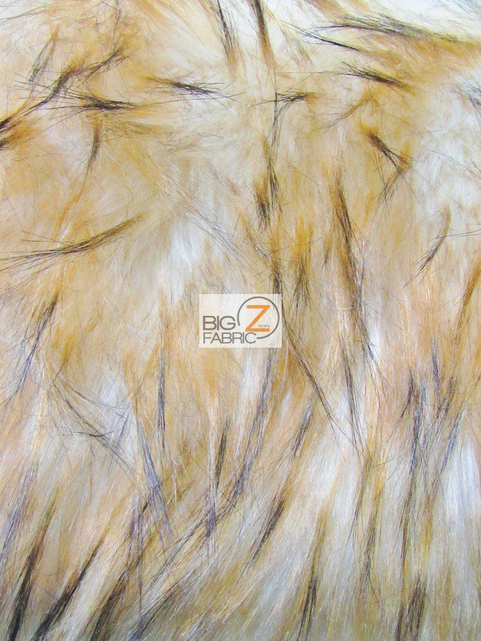 Lynx Cat Fake Fur Fabric