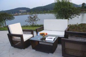 White Waterproof Outdoor Furniture