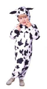 Cow Velboa Kids Halloween Costume
