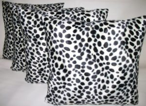 Dalmatian Velboa Decorative Pillow