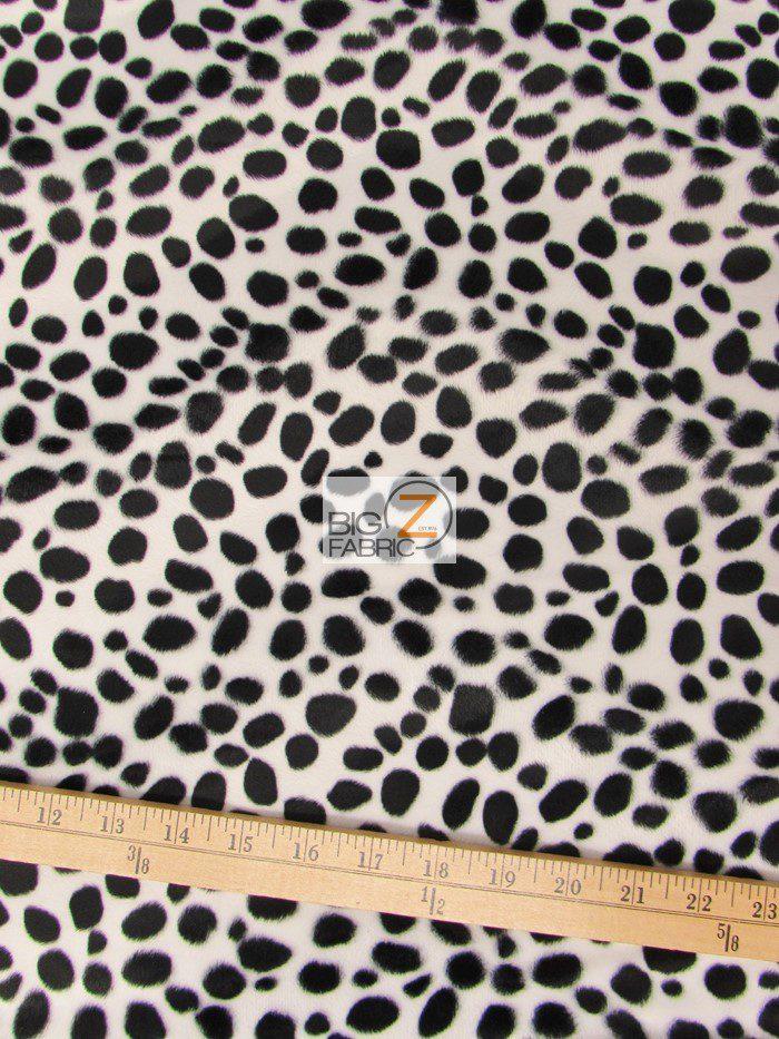 Dalmatian Velboa Fabric