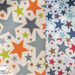 American Stars Riley Blake 100% Cotton Duck Fabric