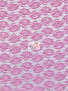 Flower Lace Fabric Fuchsia