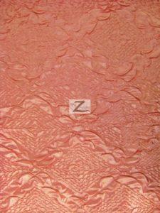 Diamond Crush Taffeta Fabric Pink