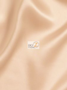 Solid Crepe Back Satin Fabric Blush