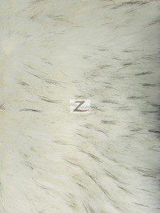 Faux Fake Fur Fabric Polar Bear Sold By The Yard.