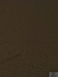 Micro Passion Suede Fabric Sold By The Yard Chocolate