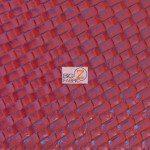Lattice Vinyl Fabric By The Yard Red