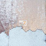 Mermaid Sequins Fabrics By The Yard Brown Cream Taupe