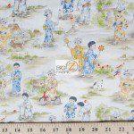 Otokonoko Michael Miller Cotton Fabric By Yard