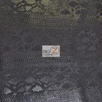 Death Black Sopythana Snake Vinyl Fabric By The Yard