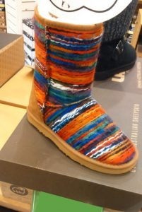 Mexican Poncho Fashion Boots