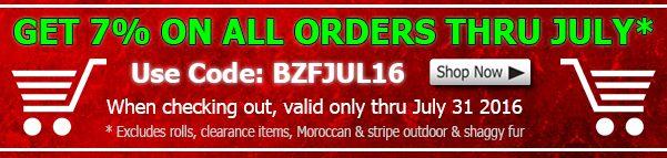 Big Z Fabric July 2016 Discount