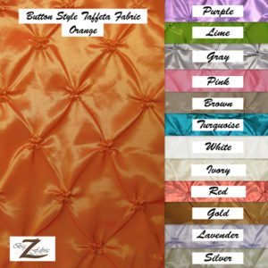 Button Style Taffeta Fabric By The Yard