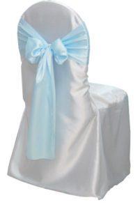 Satin Banquet Chair Cover