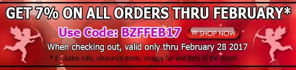 Big Z Fabric February 2017 Discount