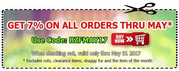 Big Z Fabric May Sale